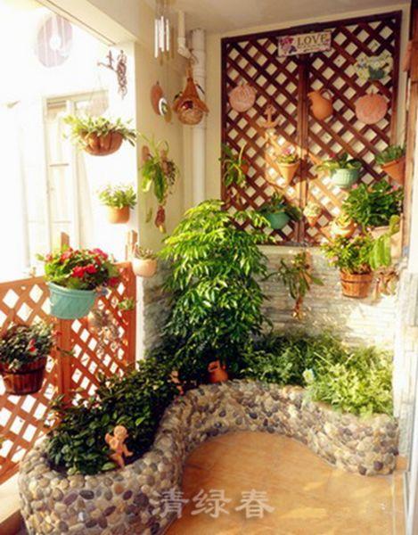 阳台花园167