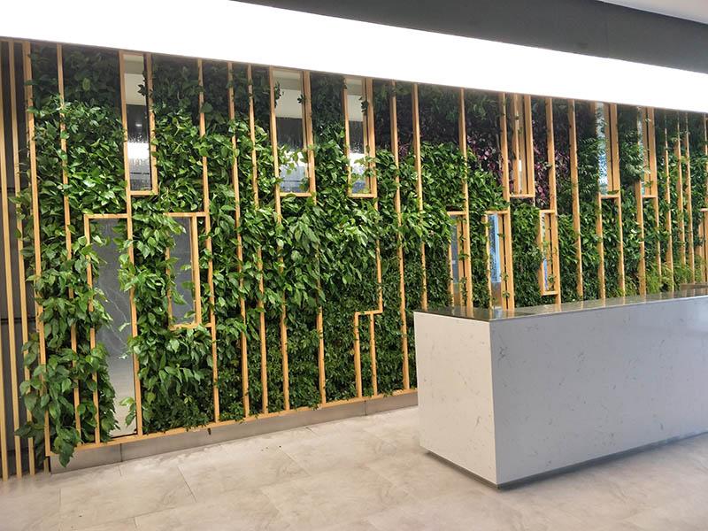广州仿真植物墙采购需谨慎避免购买劣质产品